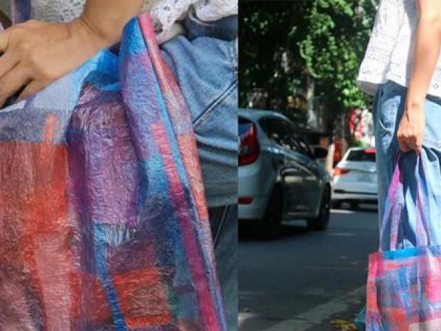 Ở nhà mùa dịch, cô gái 9x làm túi xách thời trang tái chế từ nilon