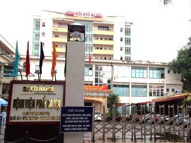 Phát hiện 9 ca dương tính với SARS-CoV-2, Bệnh viện Phổi Hà Nội tạm dừng tiếp nhận bệnh nhân