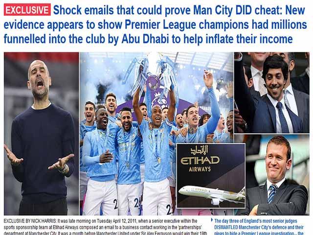 Man City bị phanh phui lừa dối UEFA: Nguy cơ bắt đầu mùa giải với điểm âm