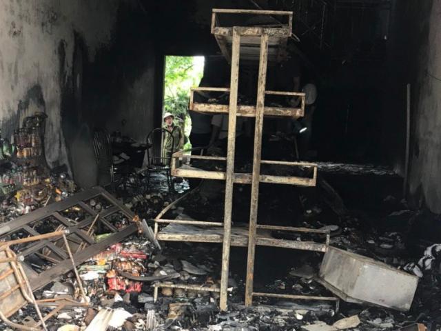 Dấu hiệu bất thường vụ 2 vợ chồng tử vong trong cửa hàng bị cháy