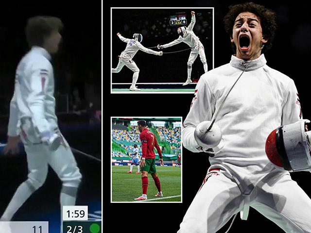 Tin mới nhất Olympic Tokyo 26/7: Kiếm thủ ăn mừng như Ronaldo tại Olympic
