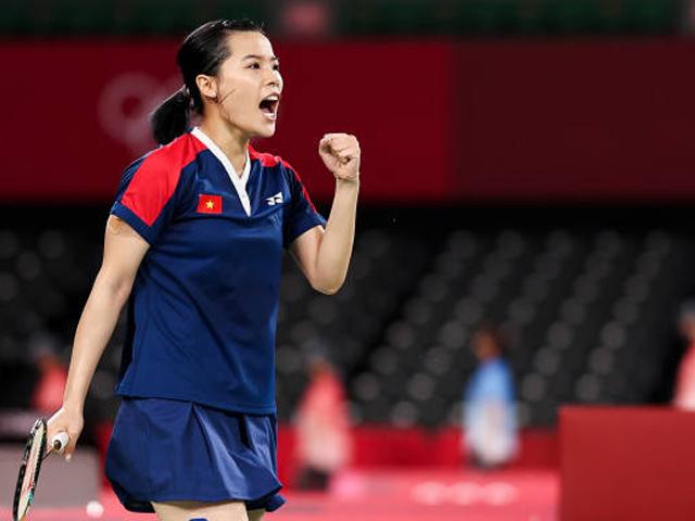 Hot girl cầu lông Thùy Linh gây ấn tượng Olympic, tự tin đua tài sao thế giới