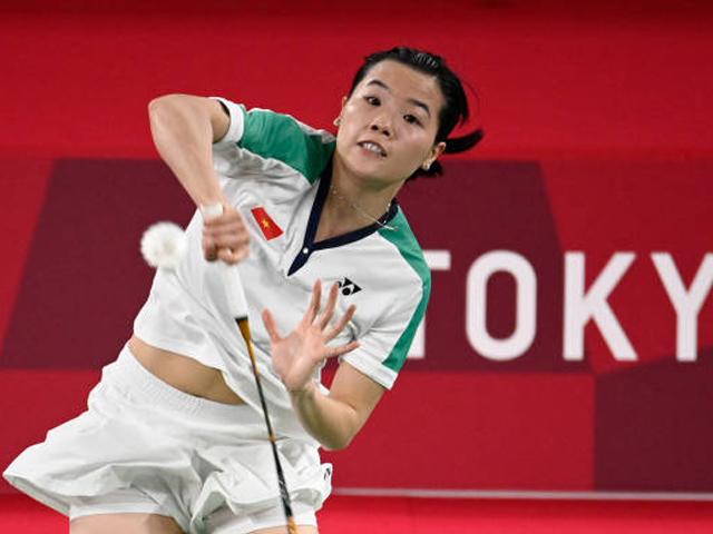 """""""Hot girl"""" Thùy Linh tỏa sáng thắng thần tốc sao cầu lông Thụy Sĩ ở Olympic"""