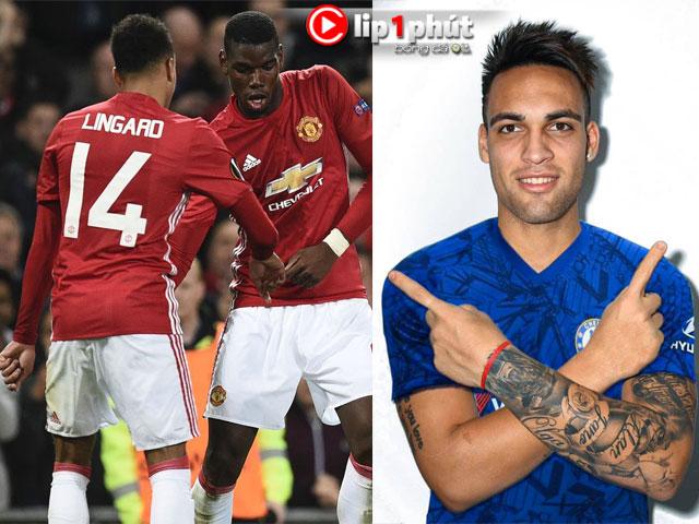 """MU dễ """"dứt tình"""" với Pogba và Lingard, Chelsea vung tiền săn """"sát thủ"""" Serie A (Clip 1 phút Bóng đá 24H)"""
