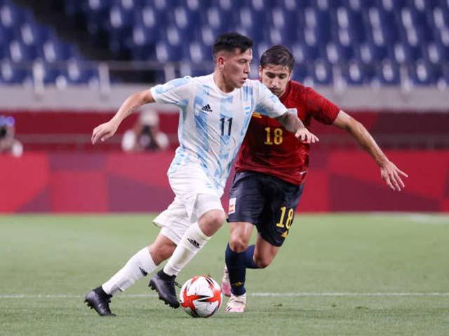 Trực tiếp bóng đá Olympic Tây Ban Nha - Argentina: Belmonte gỡ hòa cho Argentina (Hết giờ)