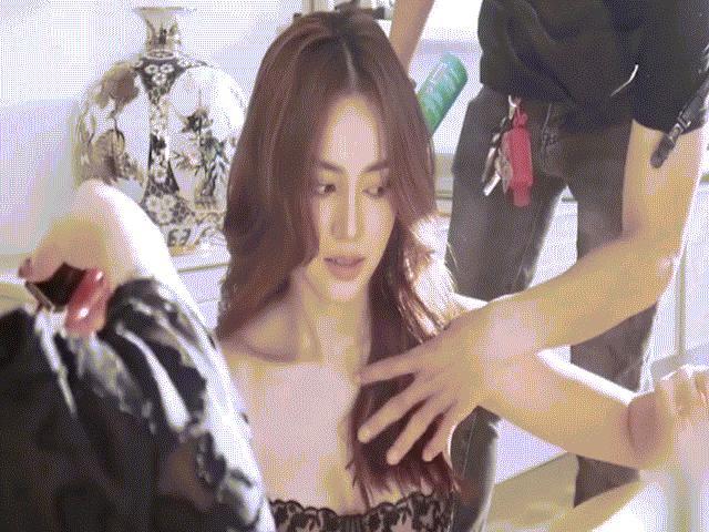 Ninh Dương Lan Ngọc khoe clip hậu trường với phong cách mới