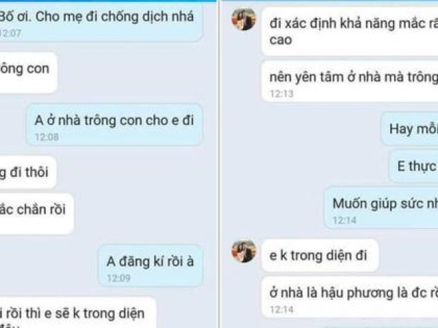 """Xúc động tin nhắn giữa hai vợ chồng y bác sĩ BV Việt Đức """"tranh nhau"""" vào miền Nam chống dịch"""