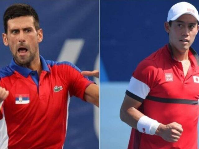 Video tennis Djokovic - Nishikori: Uy lực khủng khiếp, set thắng trắng ác mộng (Tứ kết Olympic)