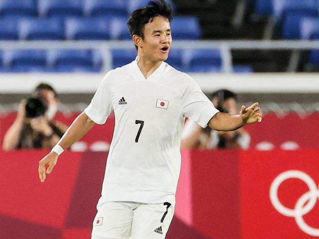"""""""Messi Nhật"""" ghi 3 bàn/3 trận: Ông lớn dè chừng, mơ kỳ tích HCV Olympic"""