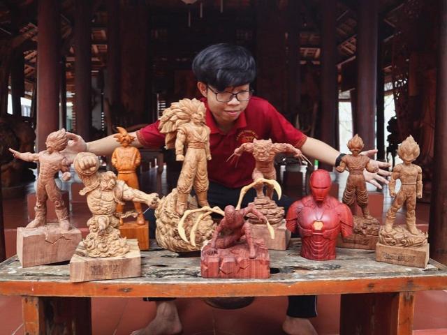 """9x Quảng Nam có thu nhập 9 chữ số nhờ biệt tài """"biến gỗ thành siêu nhân"""""""