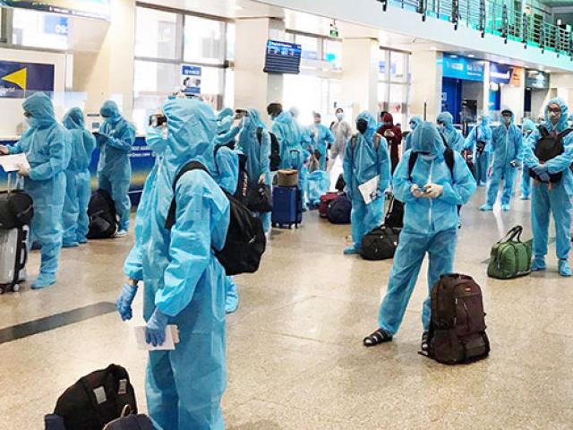 Chuyến bay đặc biệt chở 190 người Bình Định rời TP.HCM về quê