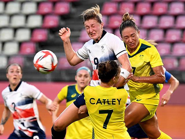 Video bóng đá nữ Vương quốc Anh - Australia: 7 bàn mãn nhãn, ngược dòng vào bán kết (Olympic Tokyo)