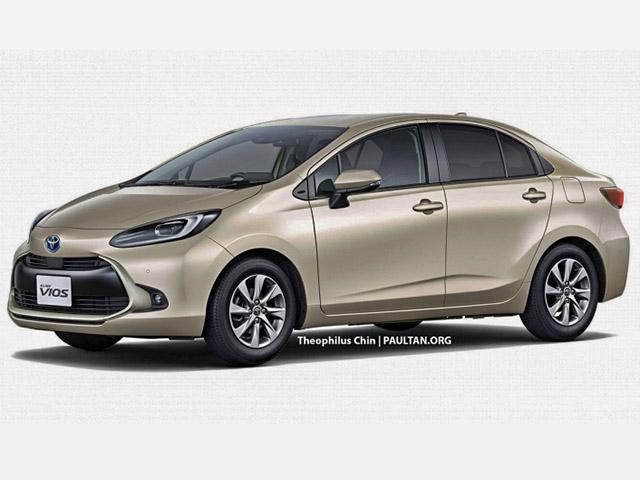 Sốc với ngôn ngữ thiết kế mới của Toyota Vios