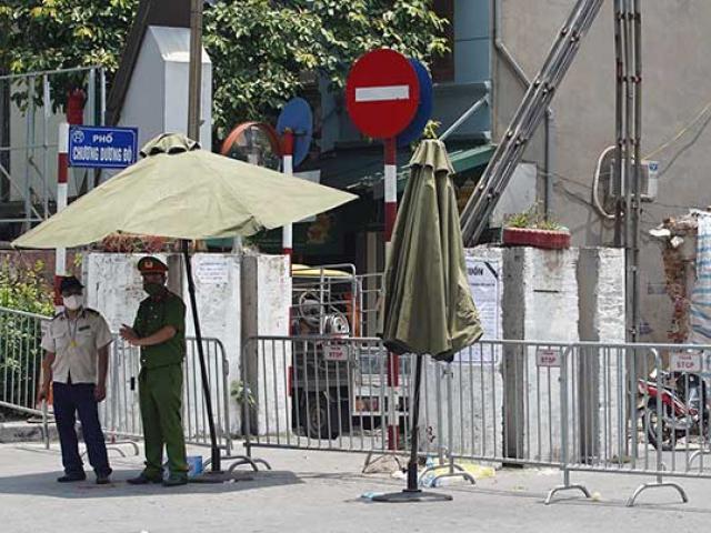 Hà Nội: Thiết lập vùng cách ly một phần phường có đội viên tự quản dương tính với SARS-CoV-2