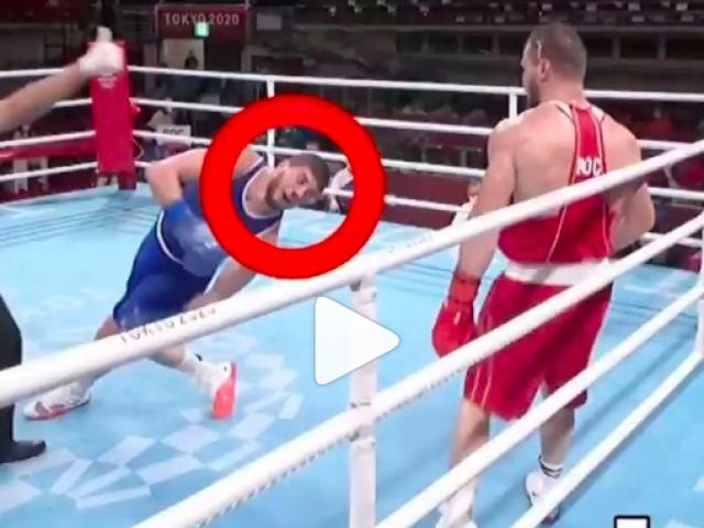 Đáng sợ Boxing Olympic: Võ sĩ bị đấm liêu xiêu trước khi ngã bất động