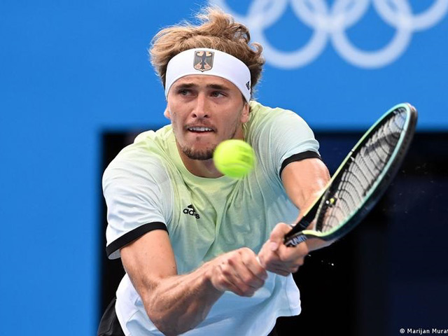 Video tennis Zverev - Khachanov: Chóng vánh 2 set, kỳ tích lịch sử (Chung kết Olympic)