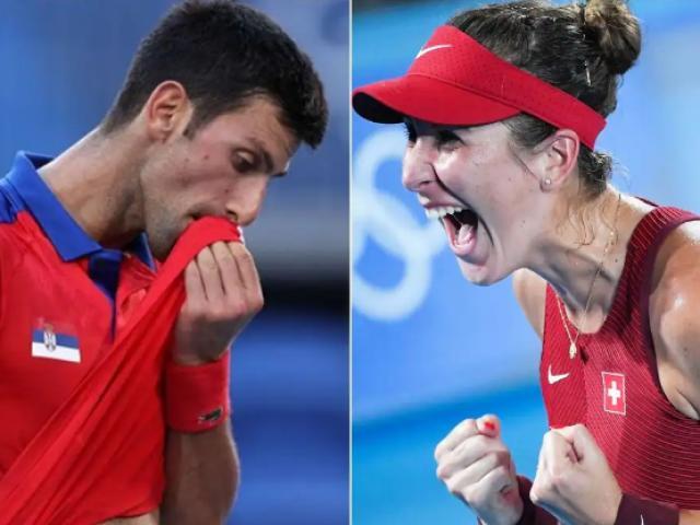 Djokovic bị chê trách, Federer được người đẹp Bencic tặng HCV Olympic (Tennis 24/7)