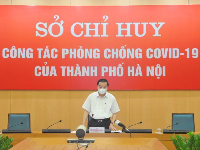 Chủ tịch TP.Hà Nội thông tin về tình hình chống dịch COVID-19 của thành phố