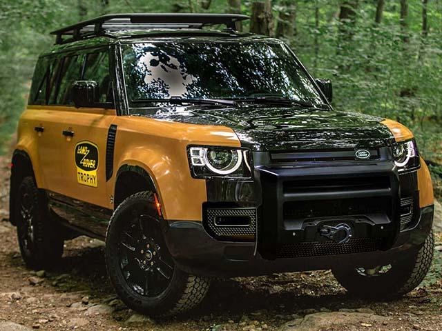 Land Rover Defender Trophy, chiếc xe dành cho ai yêu khám phá