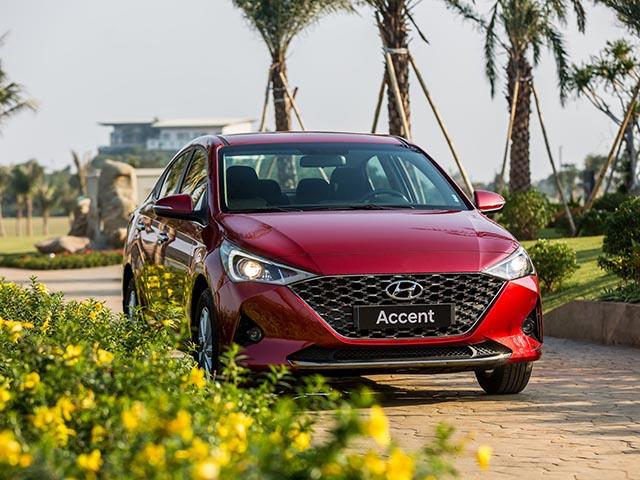 Giá xe Hyundai Accent lăn bánh tháng 8/2021