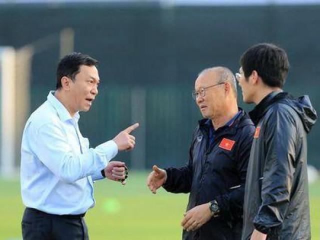 HLV Park Hang-seo muốn gì khi lấp lửng chuyện hợp đồng với VFF?