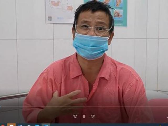 CLIP: Lời tận đáy lòng của một nhà báo mắc Covid-19 vừa được Bệnh viện Chợ Rẫy cứu