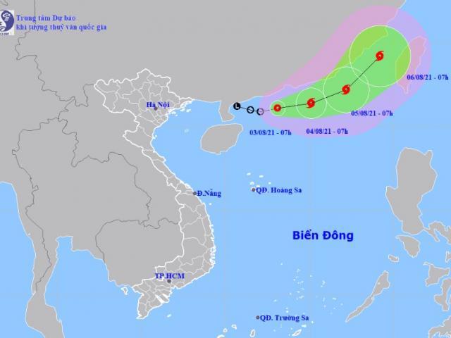 Áp thấp nhiệt đới xuất hiện trên Biển Đông, khả năng mạnh lên thành bão