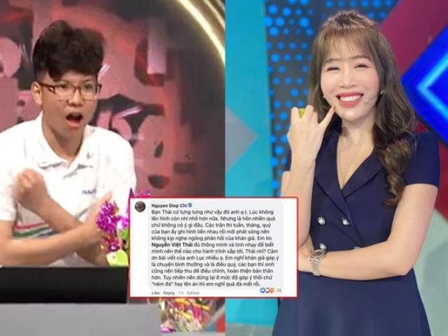 """3 điều về thí sinh Việt Thái trước khi vướng ồn ào """"quen người ở ban ra đề Olympia"""""""
