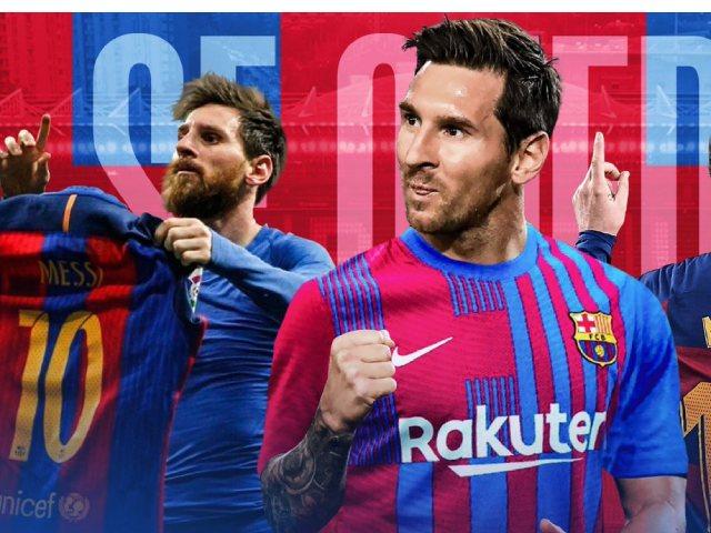 Nóng: Messi đồng ý ở lại Barcelona tới 39 tuổi, bao giờ công bố chính thức?