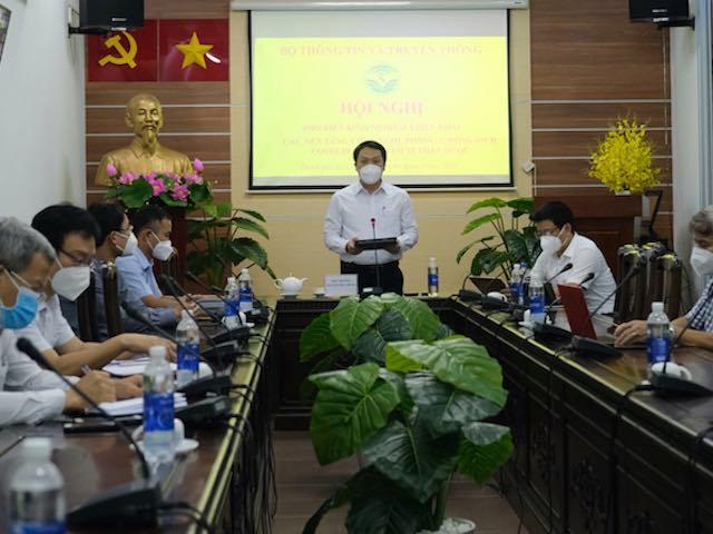 Bộ TT&TT đề nghị thành lập tổ công nghệ phòng, chống dịch COVID-19 đến tận phường, xã