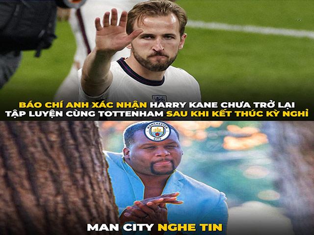 """Harry Kane bỏ tập """"chống đối"""" Tottenham, fan Man City mừng thầm"""