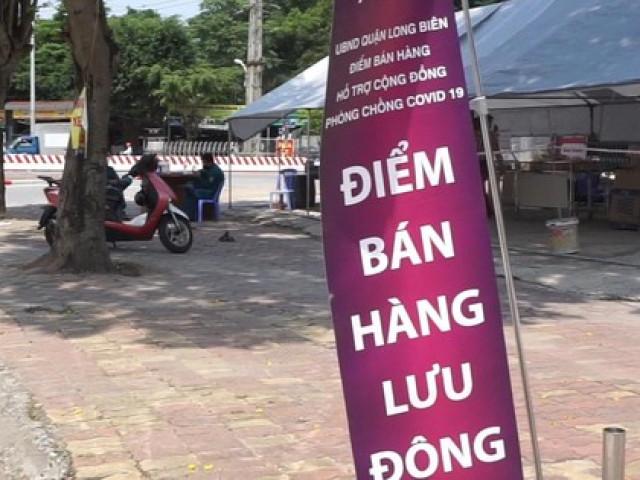 Thí điểm bán hàng lưu động trong thời gian giãn cách xã hội tại Hà Nội