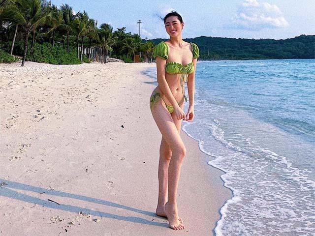 Hoa hậu Cao Bằng có số đo đẹp nhất lịch sử, đôi chân dài 1m22 không đối thủ