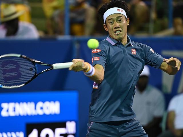 """Tiểu Federer"" Dimitrov thua sốc, Nishikori thăng hoa vòng 2 Citi Open"
