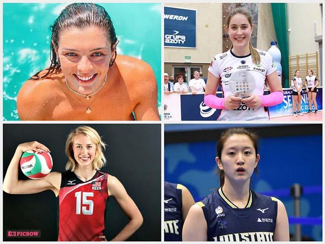 4 mỹ nhân bóng chuyền Hàn Quốc - Mỹ - Serbia - Brazil đọ sắc ở bán kết Olympic Tokyo