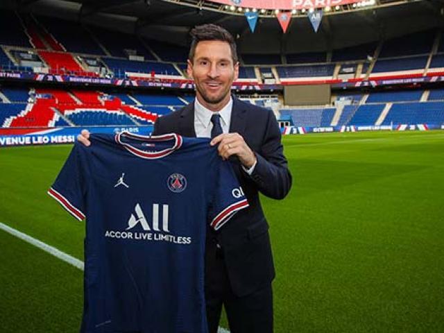 Giá trị thương hiệu PSG chạm mốc tỷ euro khi siêu sao Lionel Messi chính thức gia nhập