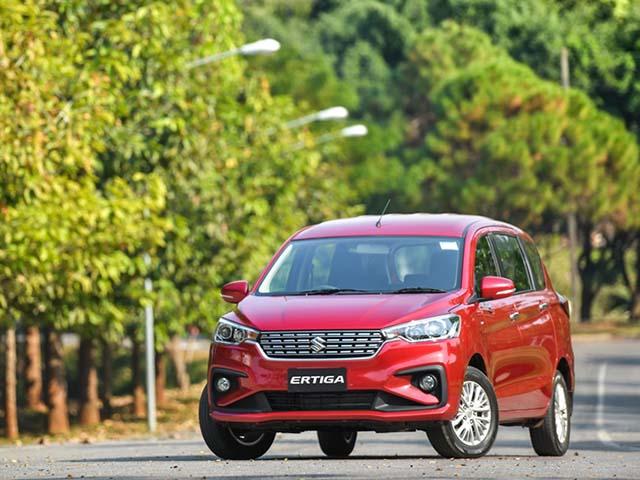 Giá xe Suzuki Ertiga lăn bánh tháng 8/2021, ưu đãi 20 triệu đồng