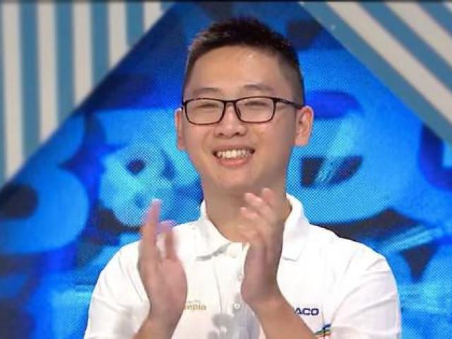 Nam sinh Hà Nội giành vòng nguyệt quế thứ hai, thẳng tiến trận thi quý Olympia