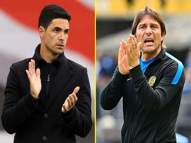 Arsenal âu lo đại chiến Chelsea: Arteta dễ bị sa thải, Conte chờ thay thế