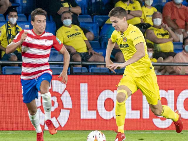 Video Villarreal - Granada: Đồng hương Messi bị thẻ đỏ, hú vía phút 90 (Vòng 1 La Liga)
