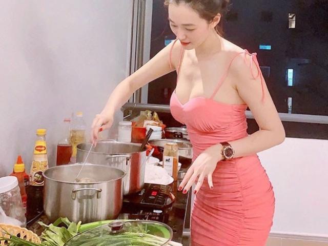 1629292842 756 thumbnail width640height480 Bảo Thy mặc sơ mi trắng mỏng tang gợi cảm, ngày càng đẹp sau khi lấy đại gia Hà Tĩnh