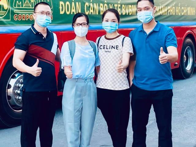 Gần 200 nhân viên y tế BV Bạch Mai tiếp tục lên đường chi viện cho TP.HCM