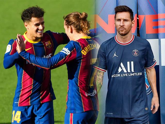Barca hỗn loạn hậu Messi: Aguero & Coutinho chê áo số 10, HLV Koeman khó xử