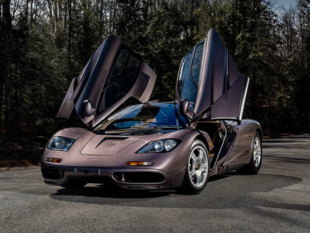 Siêu phẩm đồ cổ McLaren F1 bán đấu giá hơn 470 tỷ đồng