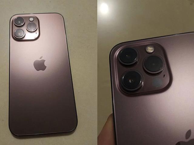 Bất ngờ iPhone 13 Pro màu Đỏ tía lộ diện
