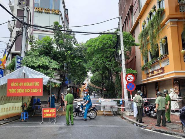 Hà Nội: Tạm phong toả 210 hộ dân với gần 800 nhân khẩu
