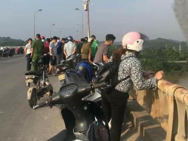 Người phụ nữ để lại thư tuyệt mệnh cùng xe máy trên cầu đã... liên lạc với gia đình