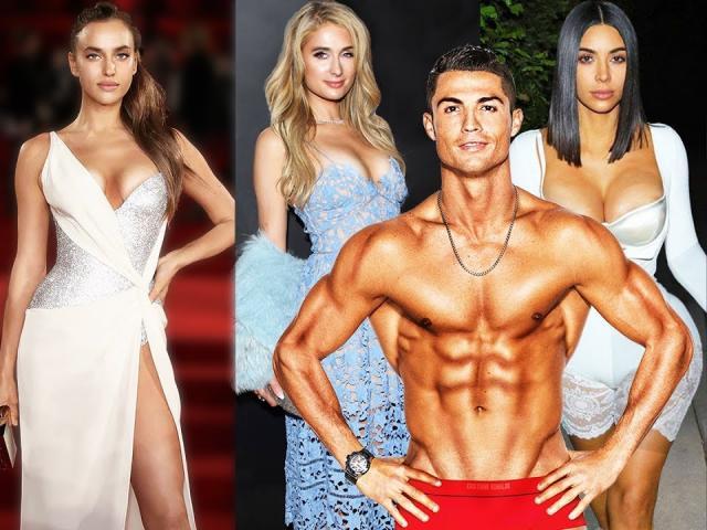 """""""Lực sĩ"""" Ronaldo liên quan hàng tá người đẹp, Sharapova từng dính tin đồn"""