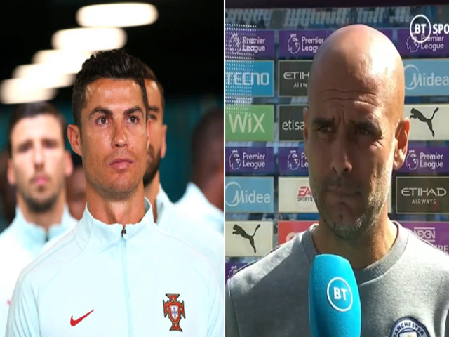 Pep Guardiola lần đầu lên tiếng vụ Ronaldo sang MU, cầu xin Arsenal giữ Arteta