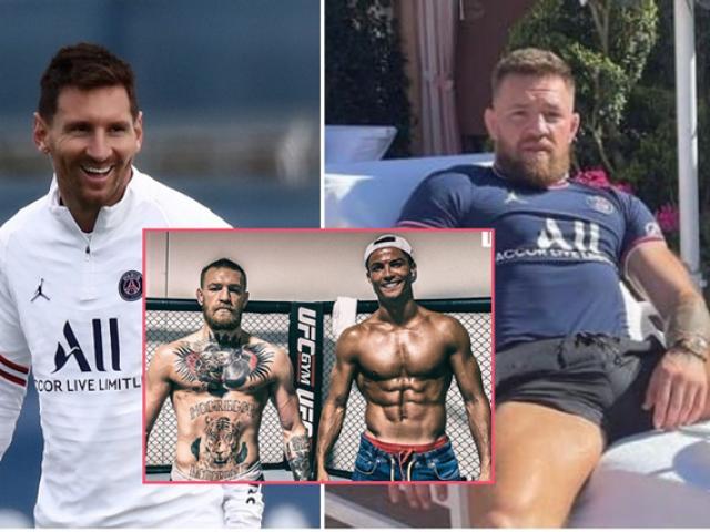 """McGregor """"trọng nghĩa khinh tiền"""": Ủng hộ Ronaldo về MU, cà khịa Messi"""